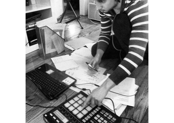 Serge Bulat working on Queuelbum