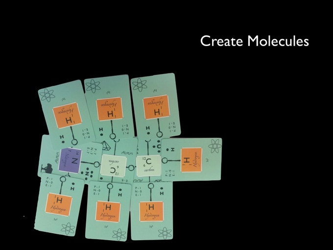 Create molecules