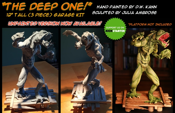 """The Deep One"" UNPAINTED Garage Kit"