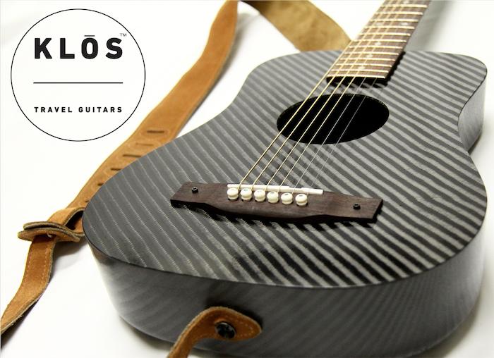 carbon fiber adventure travel guitars by klos guitars kickstarter