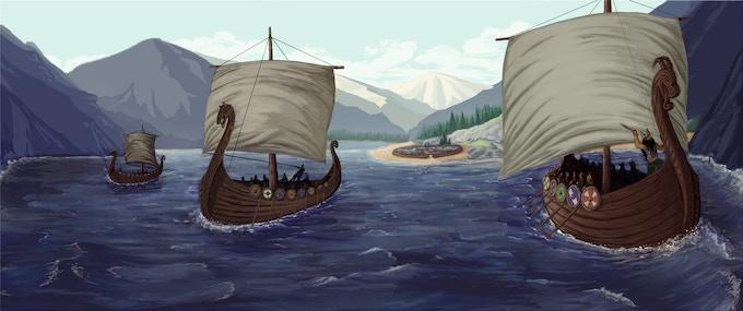Viking Invasion by Oliver Guevara