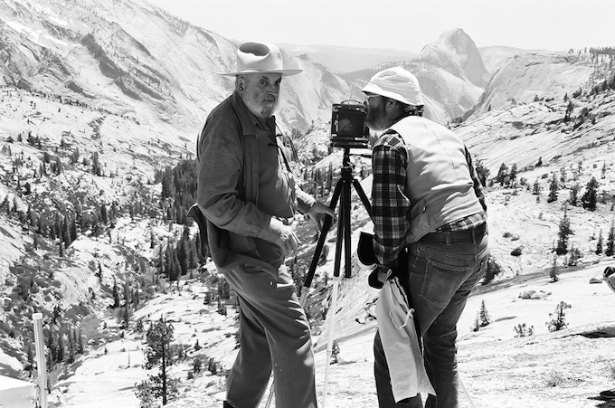 Photographing Yosemite National Park with Ansel Adams when I was just 19 years old.
