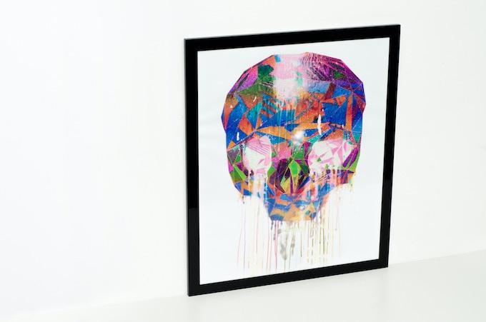 Skull Remix 1 // TIND (20 X 24)