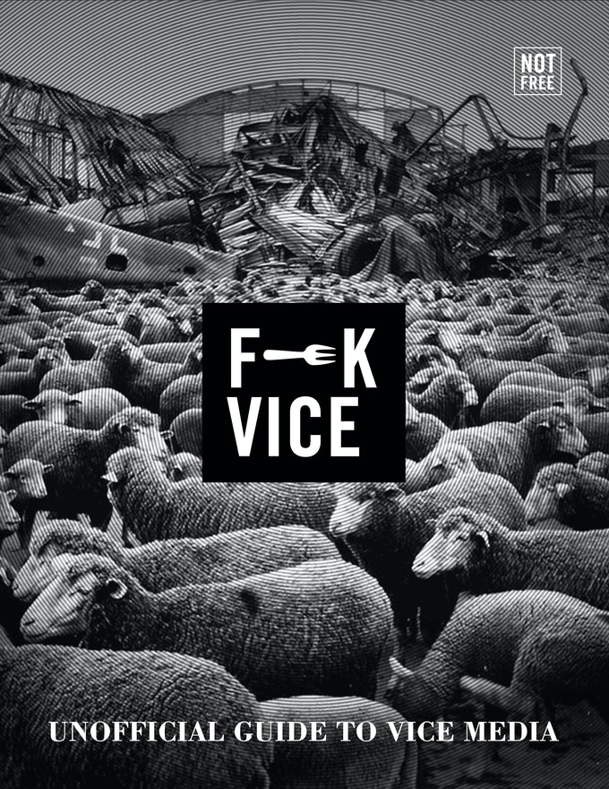 "F**K VICE - 8.5x11"" - 115 pages - Book cover subject to change"