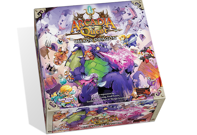 Arcadia Quest Inferno By Cmon Chaos In The Arcadia World The