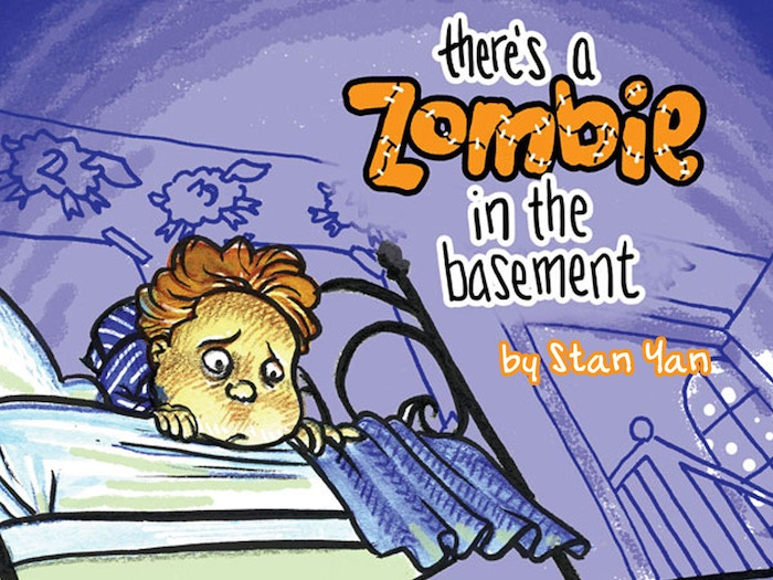 At long last, the charming, rhyming picture book inspired by my son's fear of my zombie caricature artwork is becoming a reality.