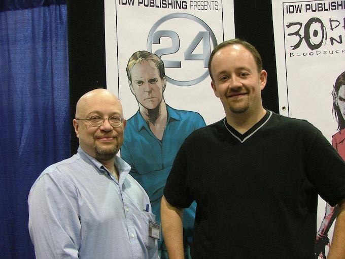 Writers J.C. Vaughn & Mark Haynes