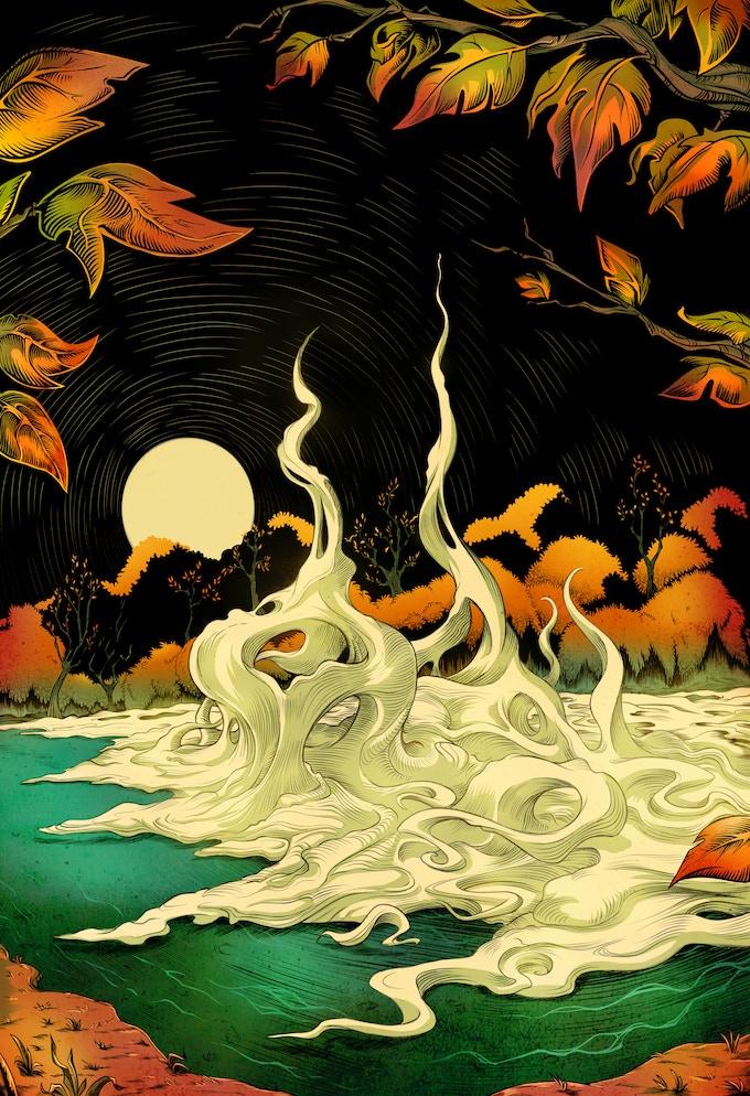 """After the Fall"" - story by Jeffrey Thomas, art by Sara Bardi"