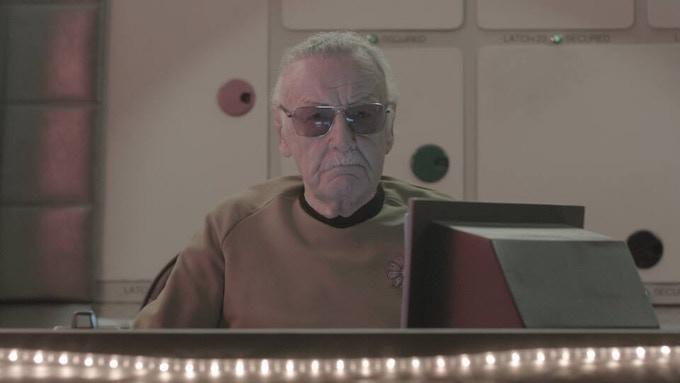Stan Lee as Starfleet Admiral McCann