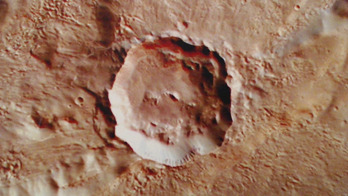 Red planet Mat Detail