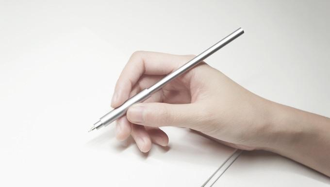 pen in use