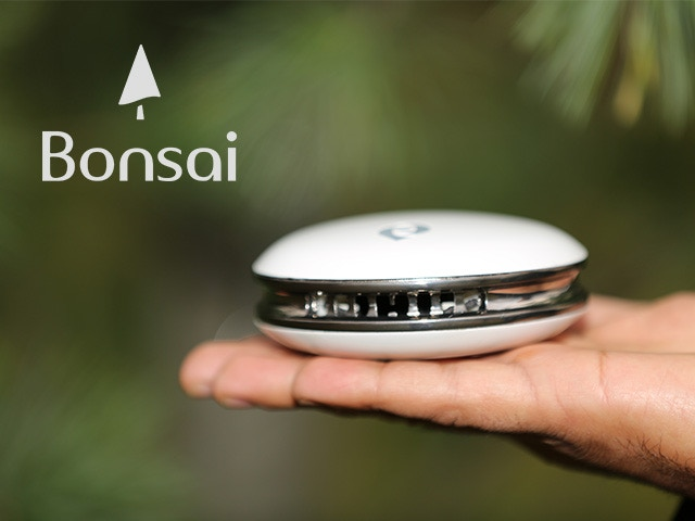 Bonsai prototype without air stand.