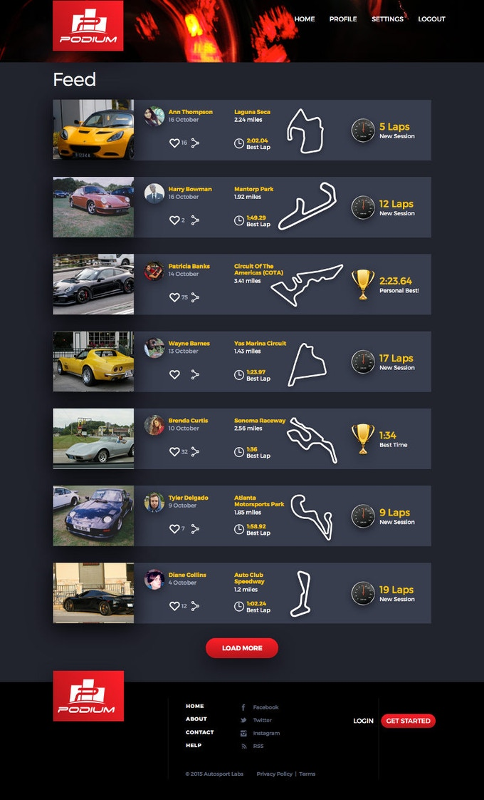 RaceCapture and Podium: Race it  Share it  Prove it  by