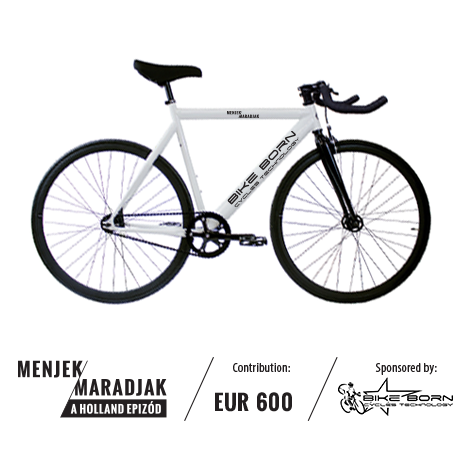 Our most special reward. The customized MM bike!