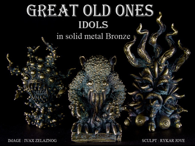 1 great old ones idols bronze