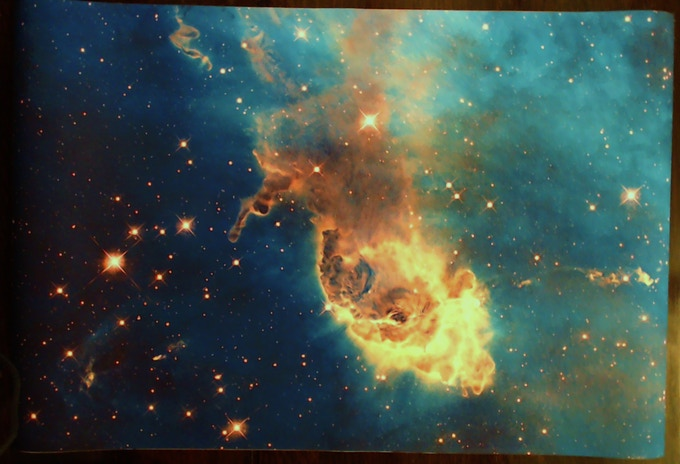Full nebula Mat - from NASA