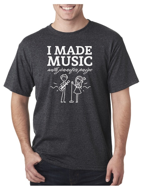 I made music with Jennifer Paige T-Shirt