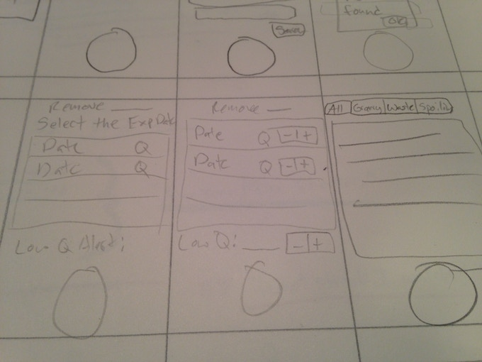 Screen Layouts for V1