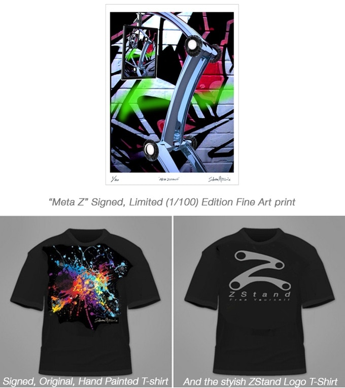"""Meta Z"" Signed, limited edition prints, and Z Tee shirts"
