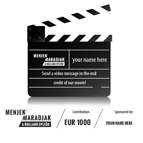 Be our co-producer and send your message with our movie!