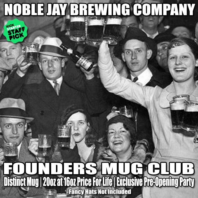 FOUNDERS MUG CLUB!