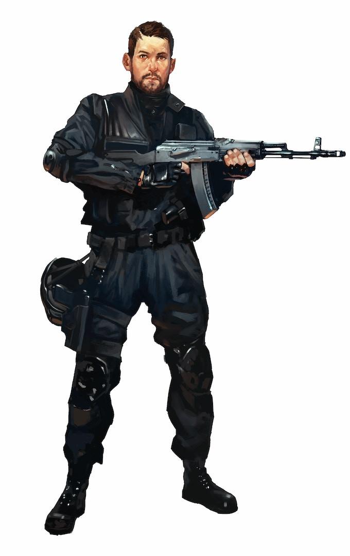Global defence soldier