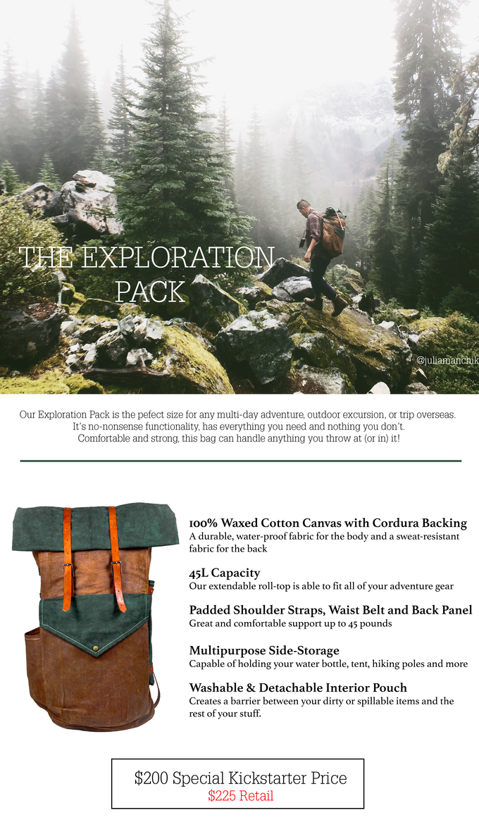 Take The Trail Packs For The Modern Adventurer By Uphill