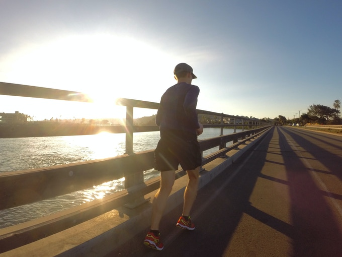 Running apparel  Made in the USA  Born to run free  by rabbit