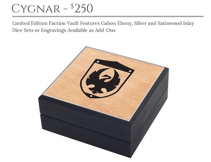 Cygnar Faction Vault: Masterwork