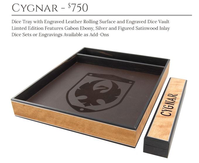 Cygnar Dice Tray System: Masterwork