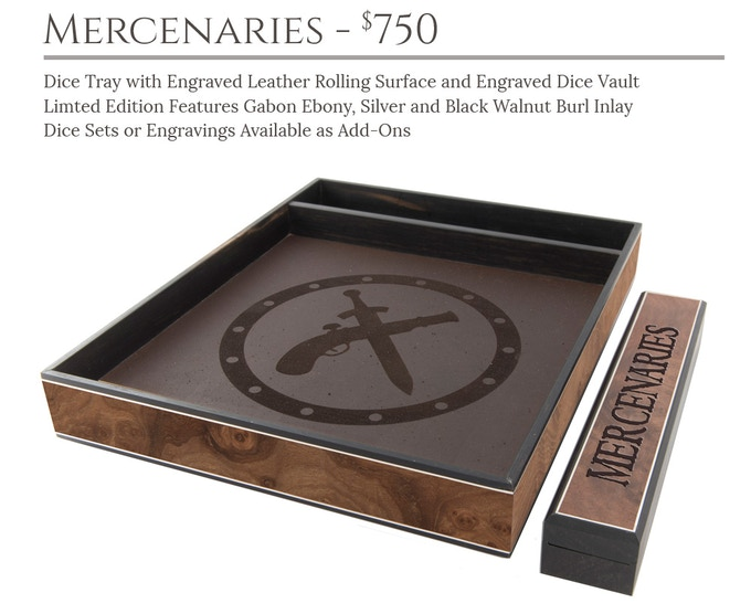 Mercenaries Dice Tray System: Masterwork