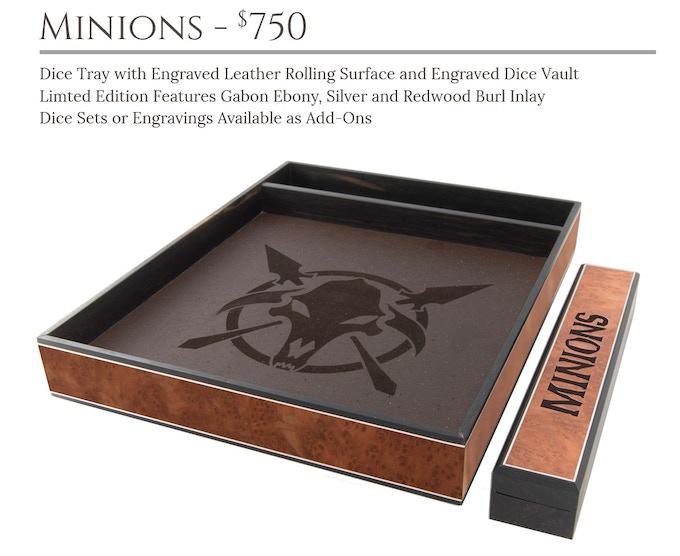Minions Dice Tray System: Masterwork