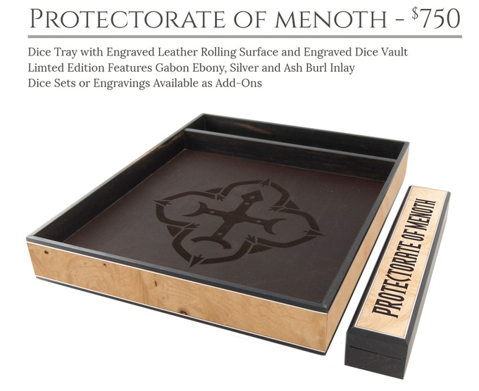 Protectorate of Menoth Dice Tray System: Masterwork