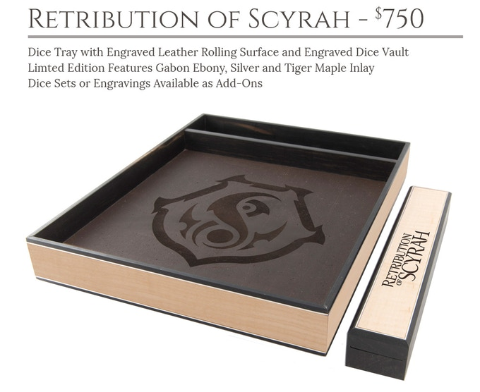 Retribution of Scyrah Dice Tray System: Masterwork