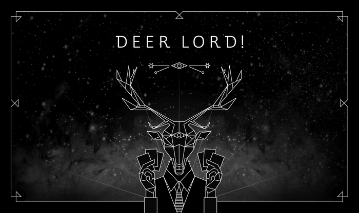 [STAFF PICK]  DEER LORD! is a party card game with duels and bizarre things for you to do without being exposed by the other players