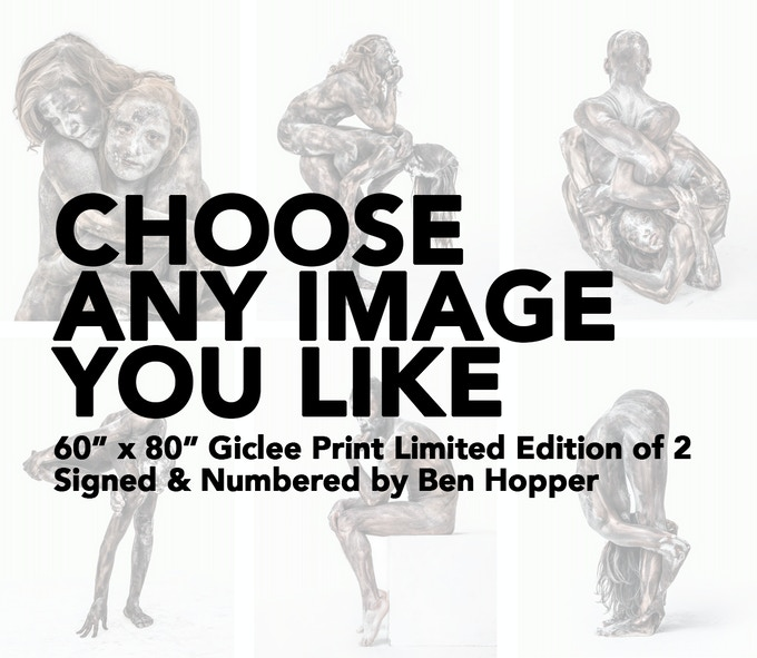 """£2200 REWARD - CHOOSE ANY IMAGE YOU LIKE: 60"""" x 80"""" Giclee Print. Limited Edition of 2. Signed & Numbered. Click on image to see selection & I will contact you after your pledge."""