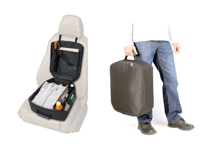 The ultimate car organizer that converts into a bag: de-clutter your car, prevent slide-off and carry things out of car with ease!