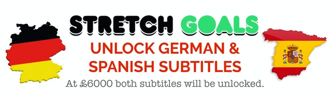 New Stretch Goal unlocked at £6000