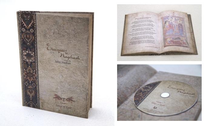 "2012 veröffentlichte das Naghash Ensemble ""Songs of Exile, Volume I"""