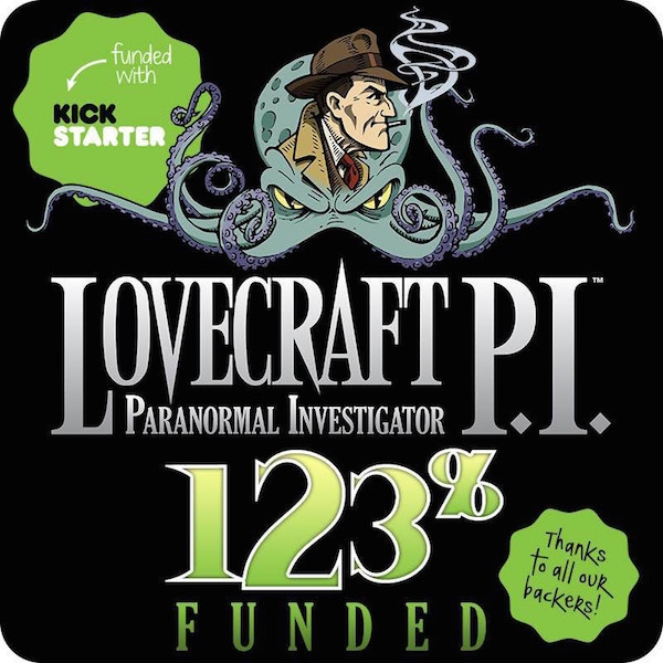 Meet Lovecraft P.I., The Supernatural Private Dick! Encountering Maidens, Monsters & Mayhem! Together in luscious INK.