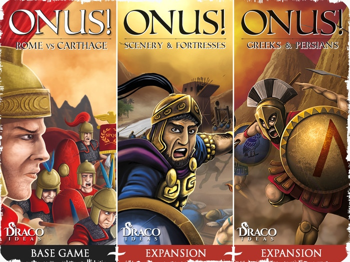 ONUS! A war game set in the ancient Rome and Greece. Revive historical battles... Or develop your own!
