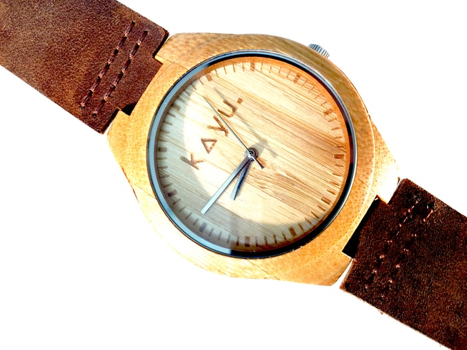 Kay Earth MMXV Bamboo Watch