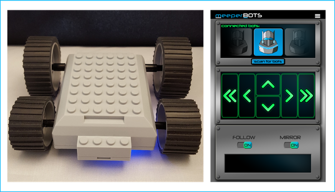 meeperBOT & Controller 2.0