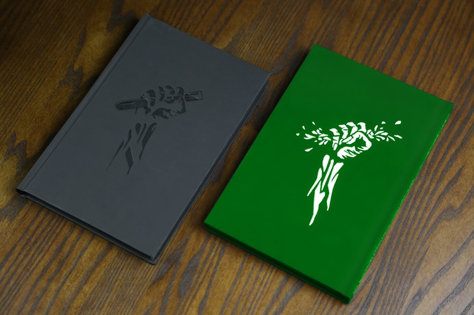 Jekyll edition (green) and Hyde edition (black)