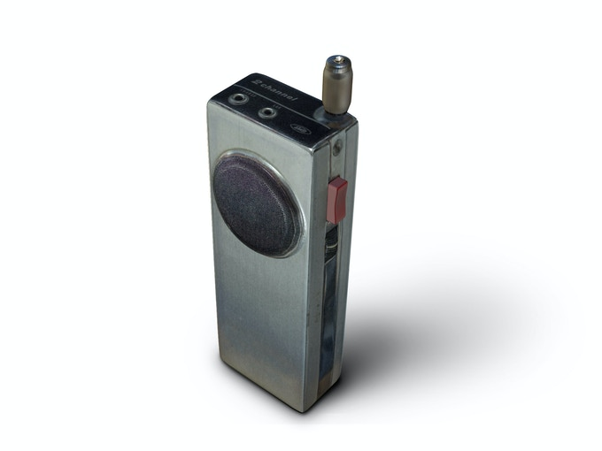 Use the Walkie Talkie to communicate with people and listening for EVP-messages in the static.