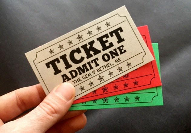 Tickets are here! Buy a few extra for your favorite movie lover.