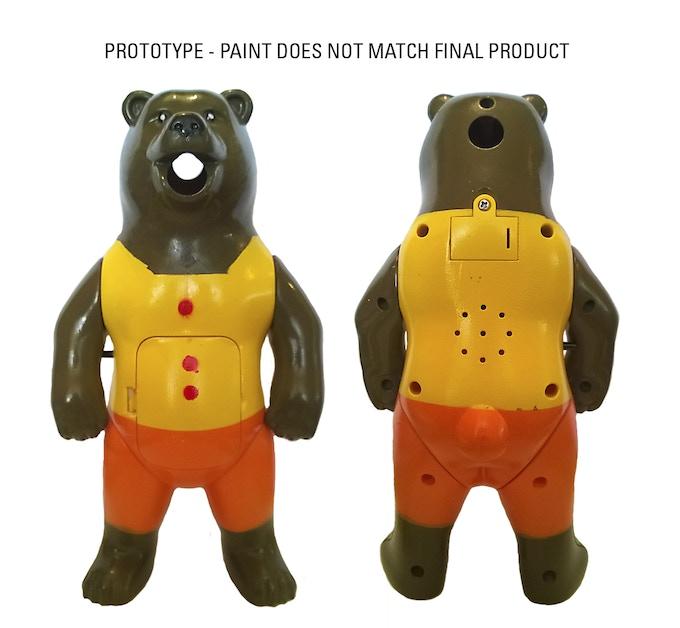 Prototype brown bear