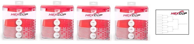 Hexcup World S Best Beer Pong Cup By William Heimsoth