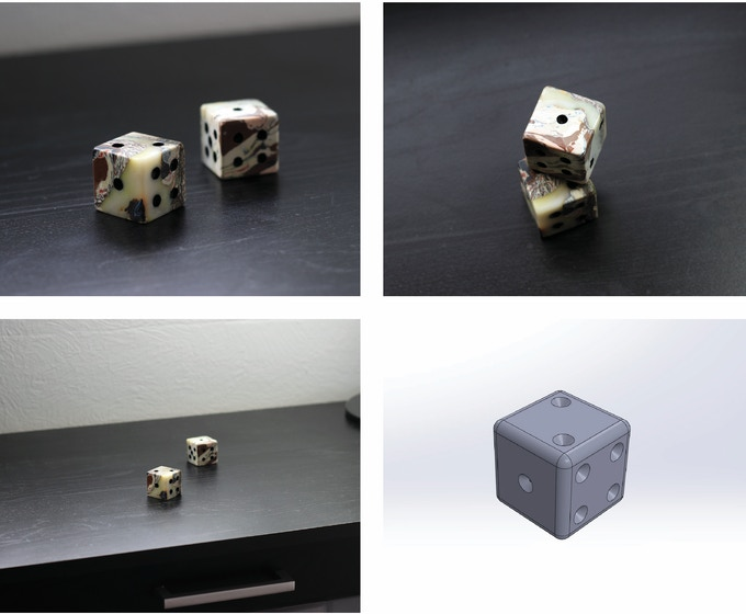 """EARLY BIRD Set of Two 3/4"""" Dice- $25. Set of Two 3/4"""" Dice - $35. Each dice will be 100% unique!"""