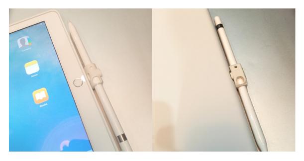 Apple Silicone Case x Quarter SI White x Quarter Stick S